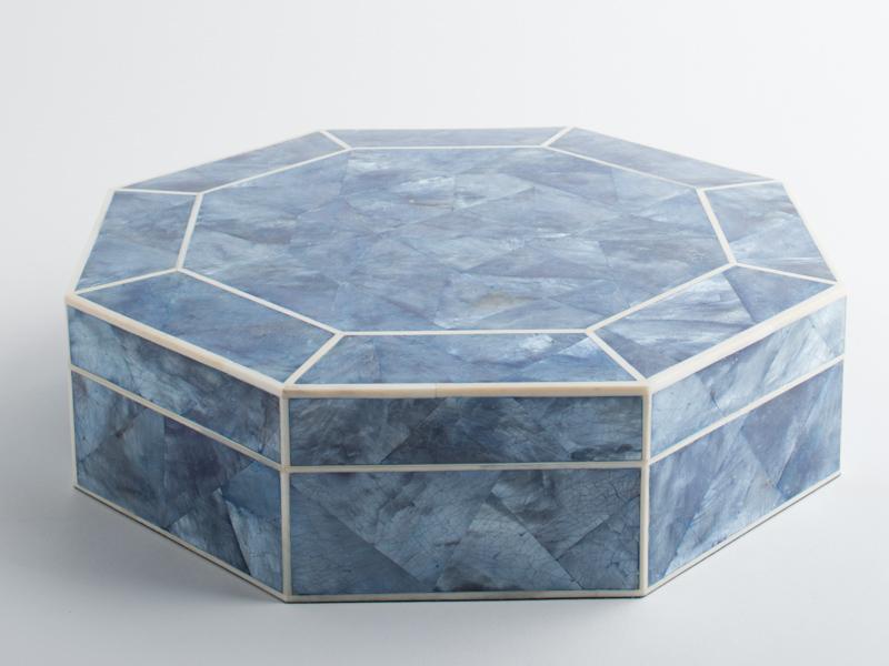 Harper Octagonal Box - Shell