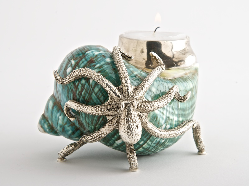Octopus Candle Holder