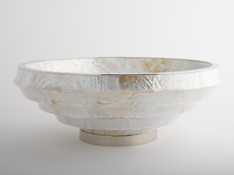 Fitzgerald Stepped Bowl - Cream