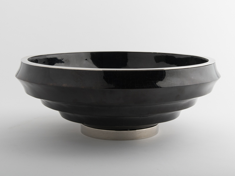 Fitzgerald Stepped Bowl - Black