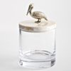 .Glass Jar with Pelican Lid