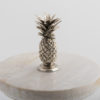 .Glass Jar with Pineapple