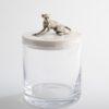 .Glass Jar with Monkey
