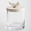 .Glass Jar with Butterfly.