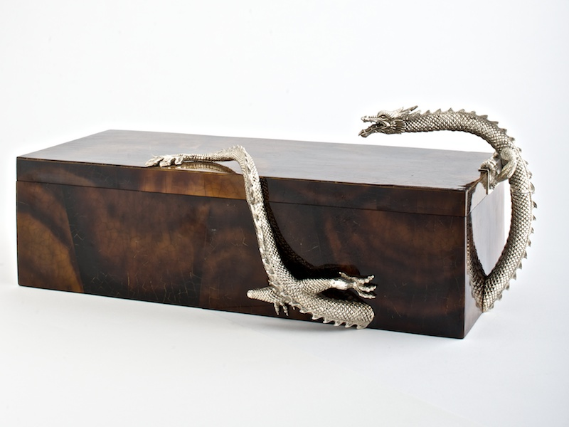 Dragon Box - Rectangular Brown