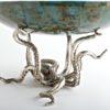 Octopussy Large Oval Bowl  Aqua