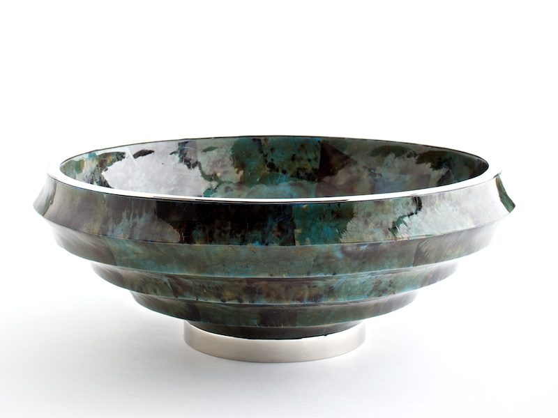 Fitzgerald Stepped Bowl - Aqua