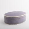 Claremont Oval Box Lavender