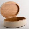 Claremont Oval Box Linen