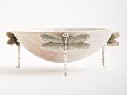 Dragonfly Small Bowl Cream