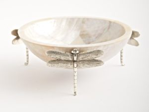 Dragonfly Small Bowl Cream