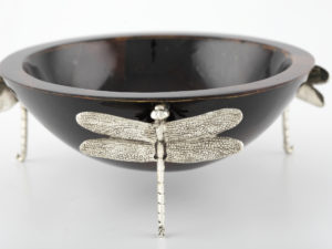 Dragonfly Small Bowl Black