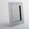 Hepburn Shagreen Photo Frame China Blue
