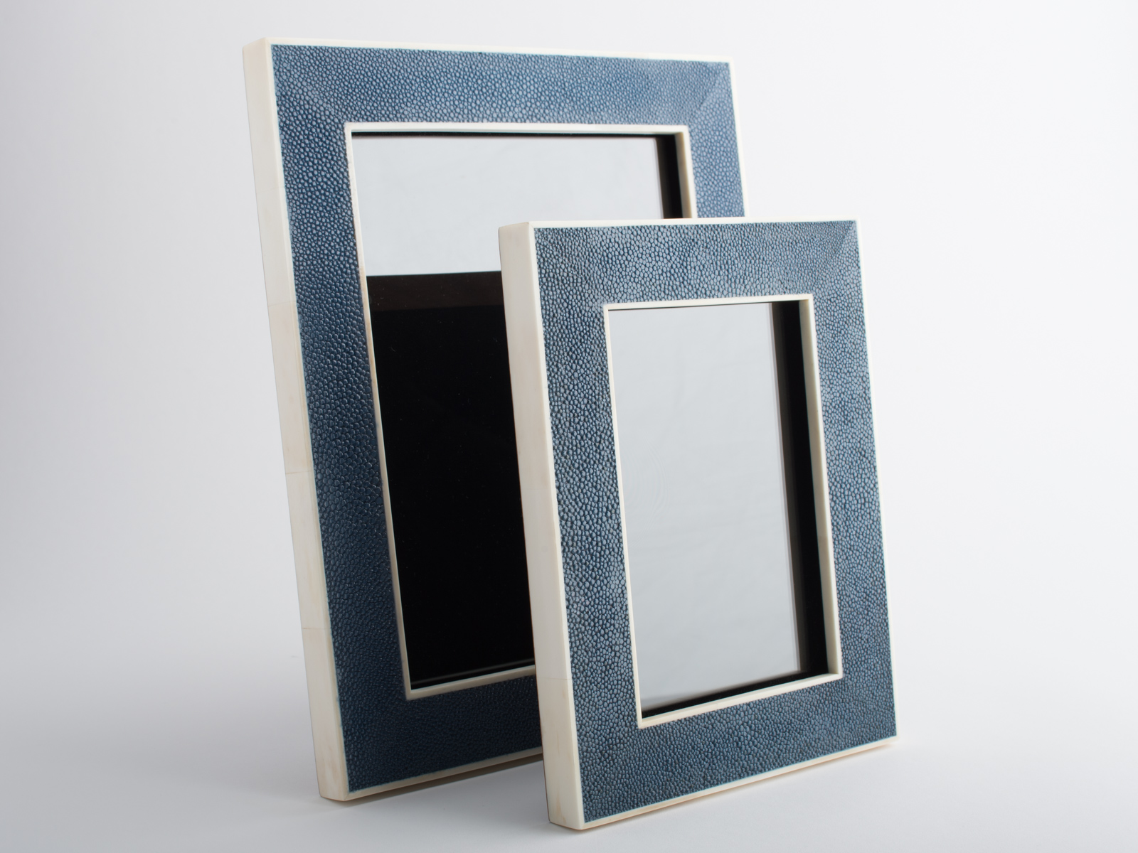 Hepburn Shagreen Photo Frame Midnight