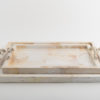 Atlantis Cream Tray - Coral