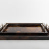 Atlantis Tray Brown -Silver Bamboo