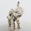 .Glass Jar with Elephant