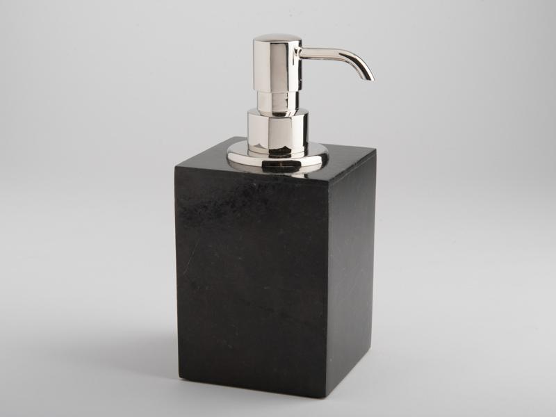 Amalfi Soap Dispenser - Black Marble