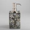 Florence Soap Dispenser - Black Mother of Pearl