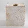 Sienna Square Tissue Box - Cream