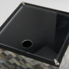 Florence Square Tissue Box - Black Mother of Pearl