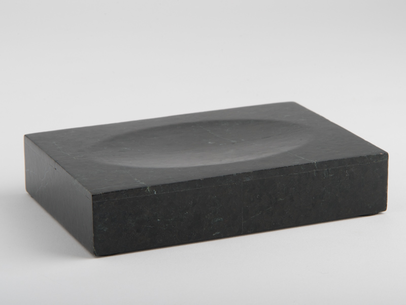 Amalfi Soap Dish - Black Marble