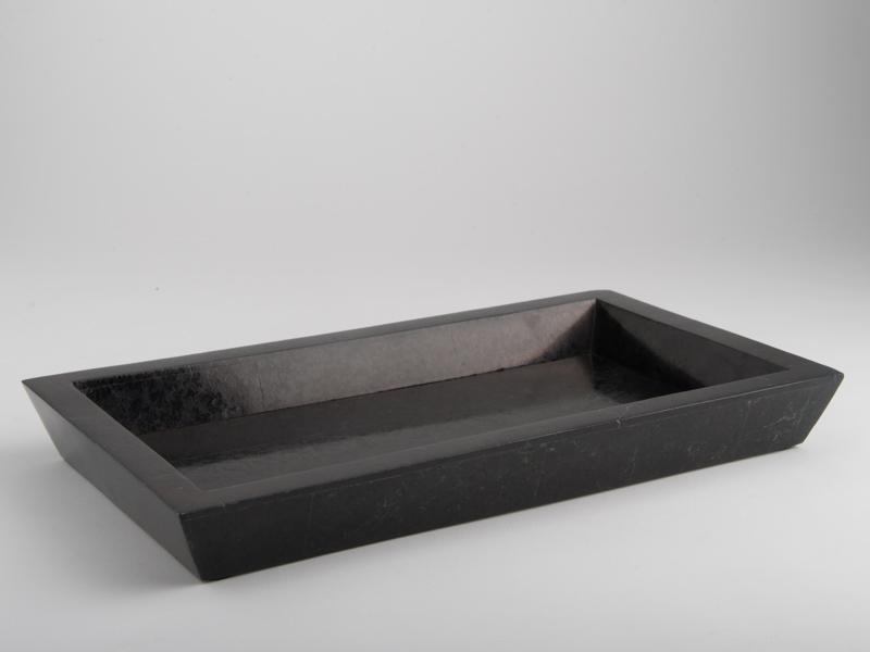 Amalfi Perfume Tray Black Marble