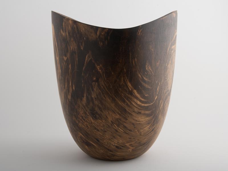 Legume Porcelain Bowl Candle Holder - Cream Copper