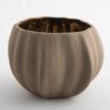 Legume Porcelain Bowl Candle Holder - Cappuccino Copper