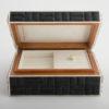 Zelda Small Jewellery Box - Black Shagreen