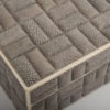 Zelda Small Box - Grey Shagreen