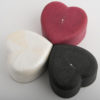 Heart Box - Shagreen - Red
