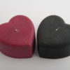 Heart Box - Shagreen - Black