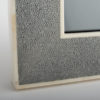 Hepburn Shagreen Photo Frame Grey
