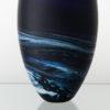 Porthleven Tear Glass Vase Indigo