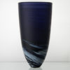 Porthleven Tall Glass Vase Indigo