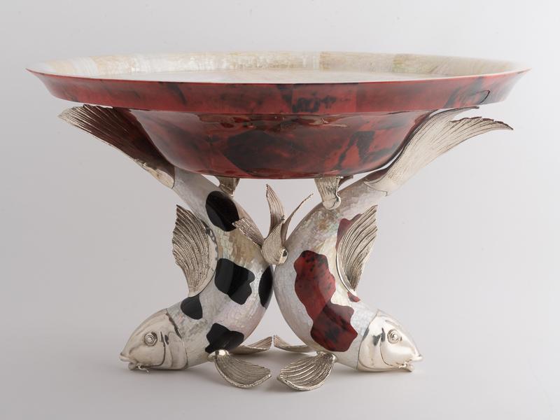 Koi Carp - Large Bowl