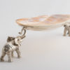 Elephants with Oyster Shell
