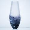 Polperro Tear Glass Vase Indigo