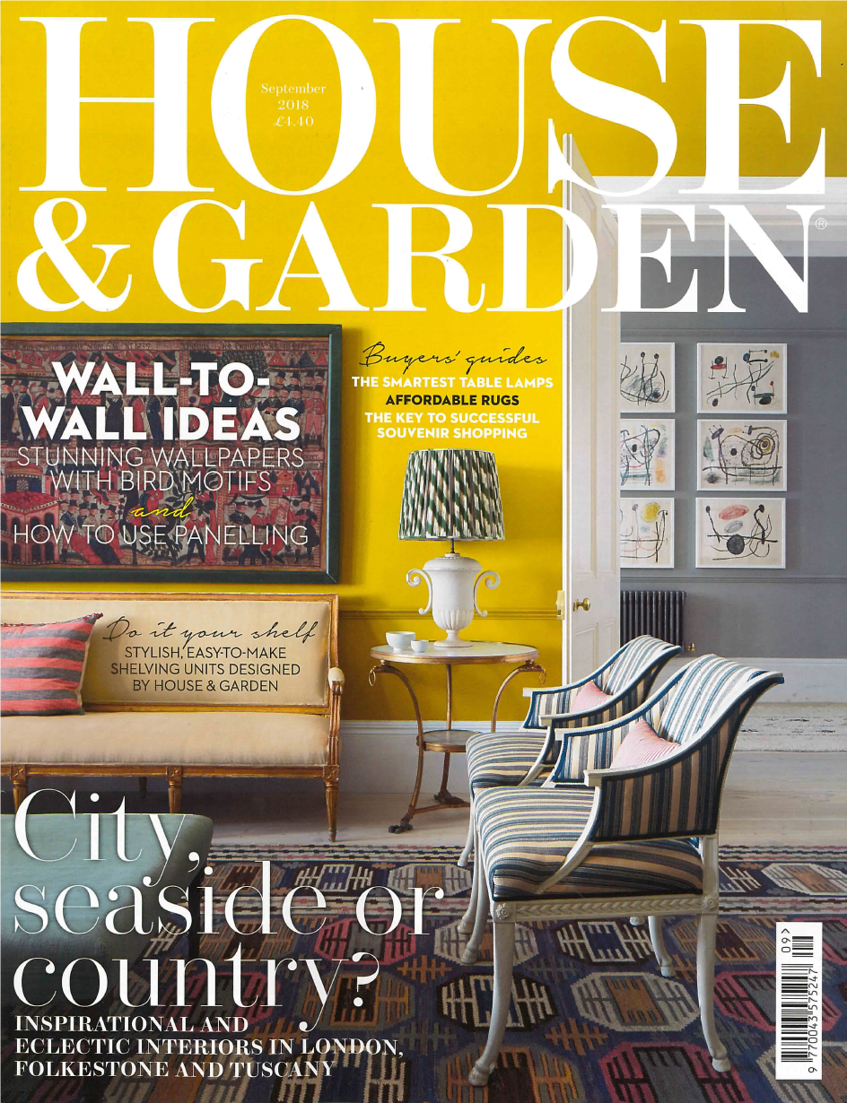"""House and Garden – August Edition"" is locked House and Garden – September Edition"