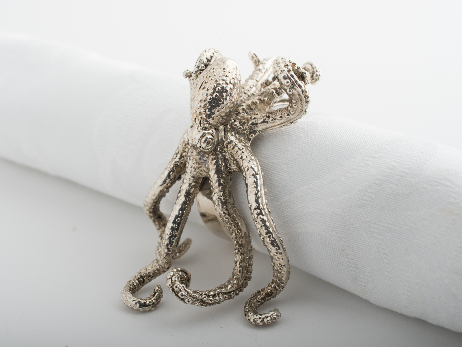 Napkin Ring Octopus