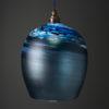 Porthleven Round Pendant Steel-Blue