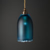 Polruan Bell Pendant Steel-Blue