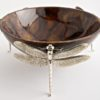 Dragonfly Bowls Brown Silver