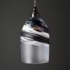 Polperro Bell Pendant Black and White