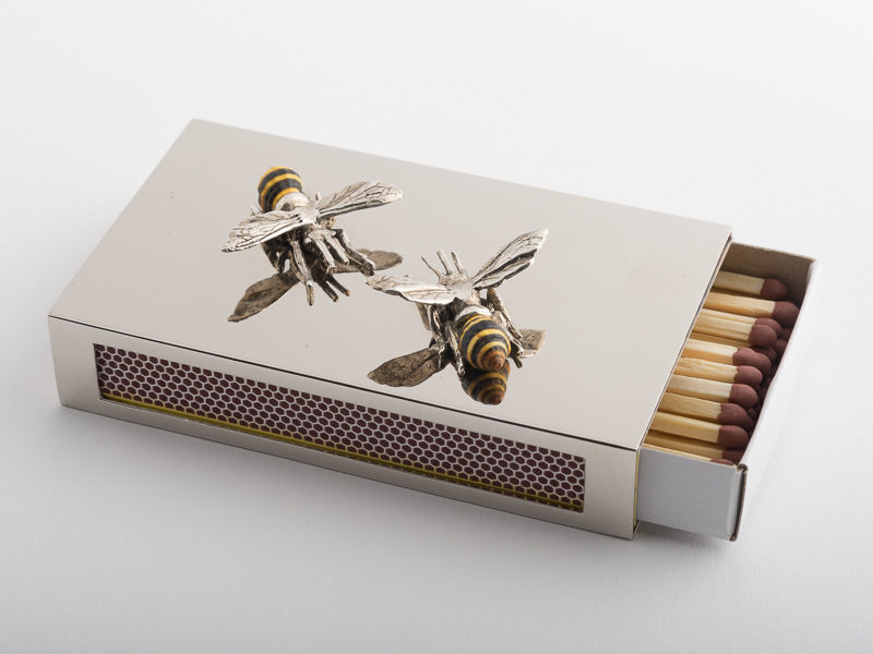 Match Box Cover - Bees