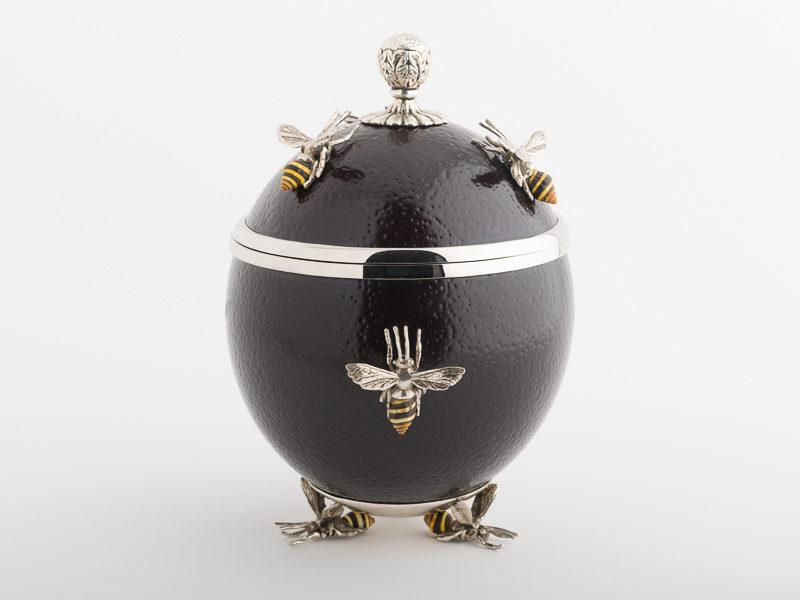 Ostrich Egg - Bees