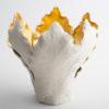 Tulipa Candle Holder - Cream Gold